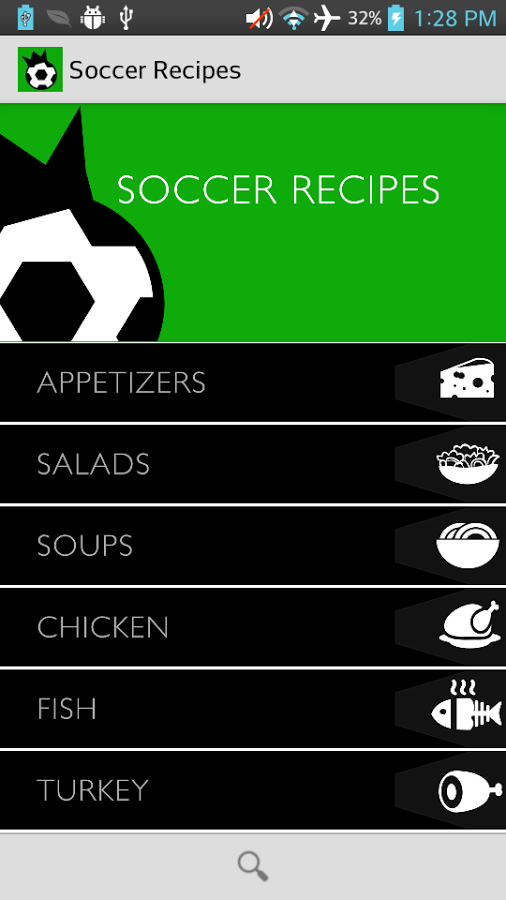 google-soccerrecipes