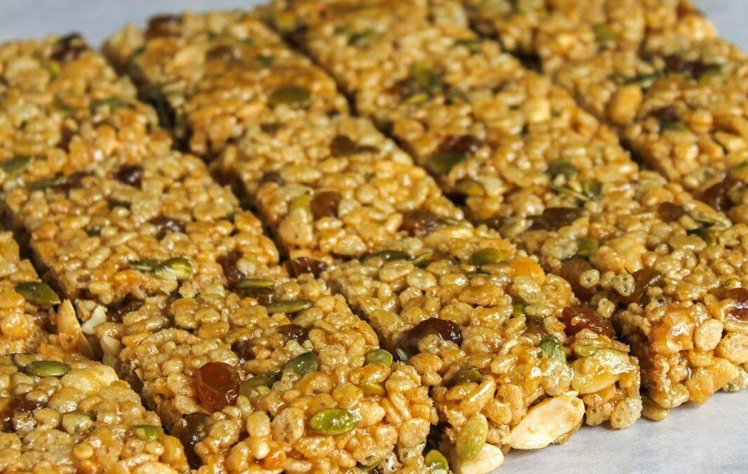 Fruit Nut Rice Krispies Treats