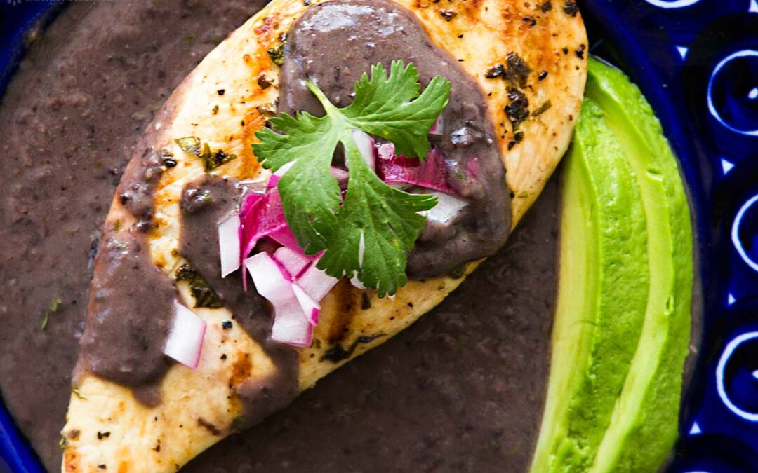 Lime-Grilled Chicken with Black Bean Sauce