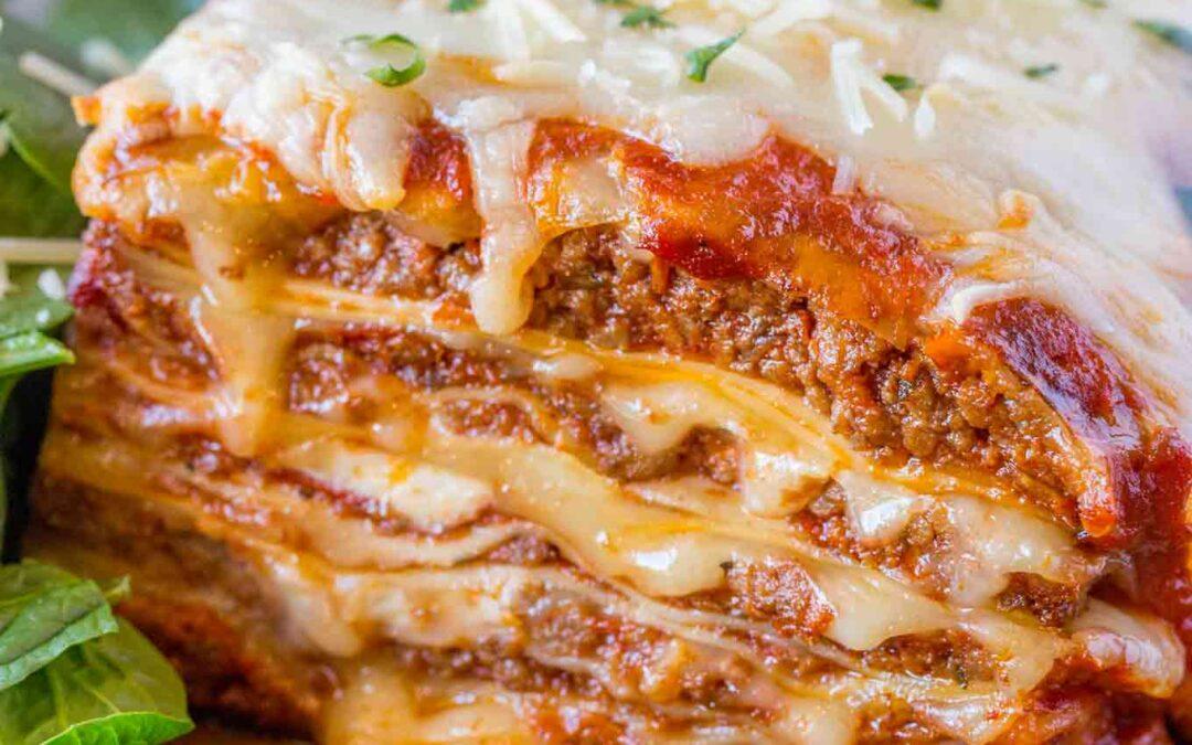 Quick Run Lasagna