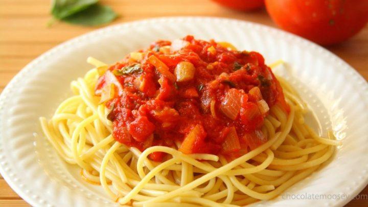 Quick Run Pasta Sauce