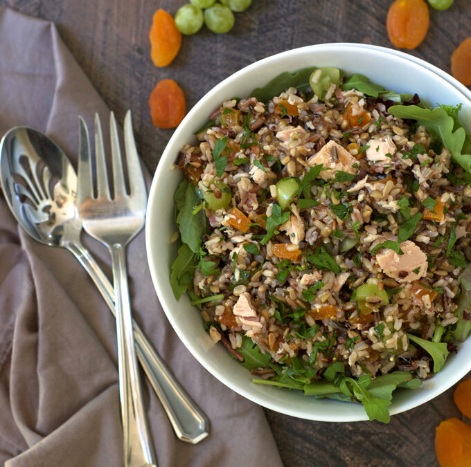 Tuna and Wild Rice Salad